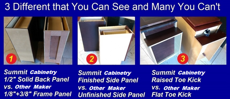Compare Us To Our Competitors And You Will Be Pleasantly Surprised. We Will  Always Have The Highest Quality Cabinets At The Best Prices In Stock!